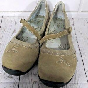 Ahnu Gracie Mary Jane Women Flats Loafer Size 10.5